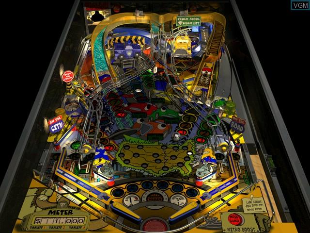 Image in-game du jeu Pro Pinball Trilogy sur Sega Dreamcast