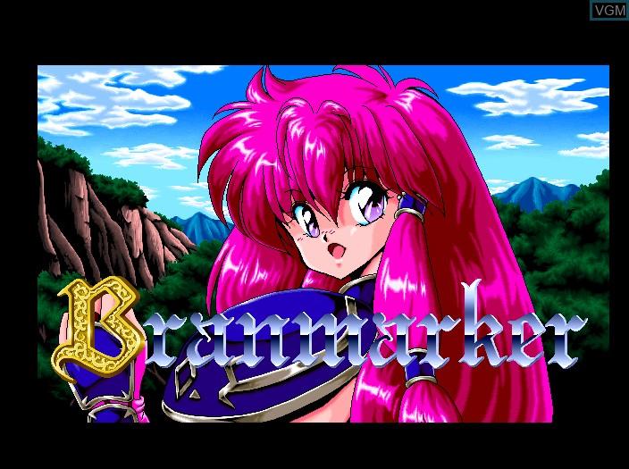 Image de l'ecran titre du jeu Branmarker sur Fujitsu FM Towns