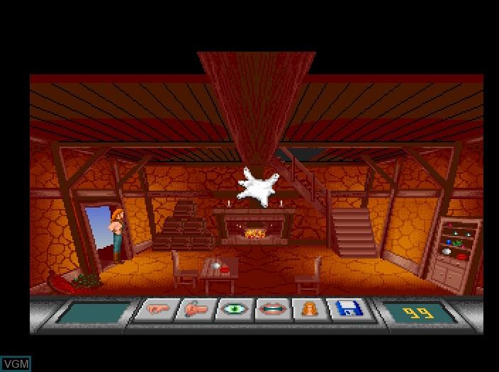 Image in-game du jeu Aeternam sur Fujitsu FM Towns