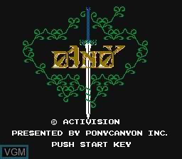 Image de l'ecran titre du jeu Dandy sur Nintendo Famicom Disk