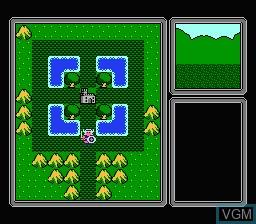 Image du menu du jeu Aspic - Majaou no Noroi sur Nintendo Famicom Disk