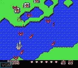 Image du menu du jeu Gall Force - Eternal Story sur Nintendo Famicom Disk