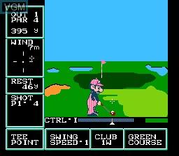 Family Computer - Golf U.S. Course