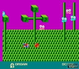 Image in-game du jeu Otocky sur Nintendo Famicom Disk