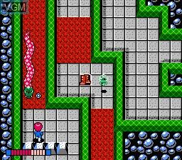 Image in-game du jeu Ai Senshi Nicol sur Nintendo Famicom Disk