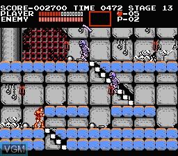 Image in-game du jeu Akuma Jou Dracula sur Nintendo Famicom Disk