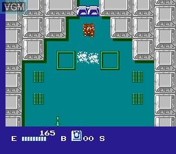 Image in-game du jeu Akuu Senki Raijin sur Nintendo Famicom Disk