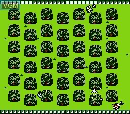 Image in-game du jeu Bakutoushi Patton Kun sur Nintendo Famicom Disk