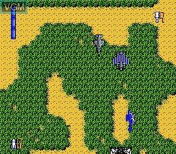 Image in-game du jeu Big Challenge! Dogfight Spirit sur Nintendo Famicom Disk
