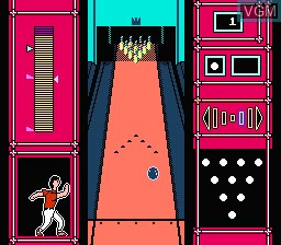 Image in-game du jeu Big Challenge! Go! Go! Bowling sur Nintendo Famicom Disk