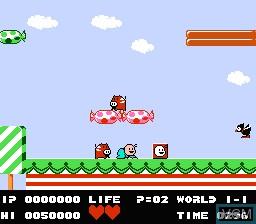 Image in-game du jeu Bio Miracle Bokutte Upa sur Nintendo Famicom Disk