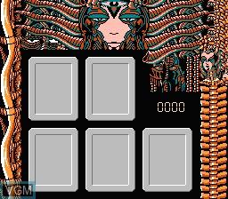 Image in-game du jeu Bishoujo SF Alien Battle sur Nintendo Famicom Disk