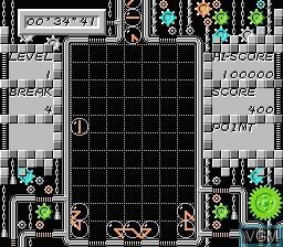 Image in-game du jeu Clox - Famimaga Disk Vol. 4 sur Nintendo Famicom Disk