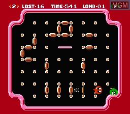 Image in-game du jeu Clu Clu Land - Welcome to New Cluclu Land sur Nintendo Famicom Disk