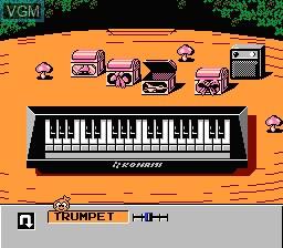 Image in-game du jeu Doremikko sur Nintendo Famicom Disk