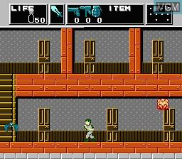Image in-game du jeu Dr. Chaos sur Nintendo Famicom Disk