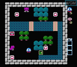 Image in-game du jeu Eggerland - Souzou heno Tabidachi sur Nintendo Famicom Disk