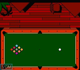 Image in-game du jeu Exciting Billiard sur Nintendo Famicom Disk