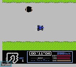 Image in-game du jeu Famicom Grand Prix - F1 Race sur Nintendo Famicom Disk