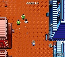 Image in-game du jeu Gun.Smoke sur Nintendo Famicom Disk