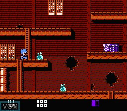 Image in-game du jeu Youkai Yashiki sur Nintendo Famicom Disk