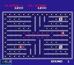 Image in-game du jeu Yuu Maze sur Nintendo Famicom Disk