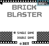 Image de l'ecran titre du jeu Brick Blaster sur Bit Corporation Gamate