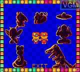Image du menu du jeu Quiz Gear Fight!!, The sur Sega Game Gear