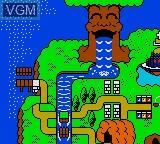 Image du menu du jeu Wagyan Land sur Sega Game Gear