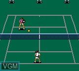 Image in-game du jeu Wimbledon sur Sega Game Gear