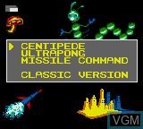 Image in-game du jeu Arcade Classics sur Sega Game Gear