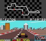 Image in-game du jeu Ayrton Senna's Super Monaco GP II sur Sega Game Gear