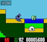 Image in-game du jeu Wagyan Land sur Sega Game Gear