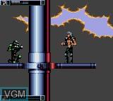 Image in-game du jeu Wolfchild sur Sega Game Gear