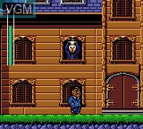 Image in-game du jeu Addams Family, The sur Sega Game Gear