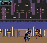 Image in-game du jeu Adventures of Batman & Robin, The sur Sega Game Gear