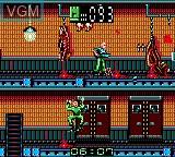 Image in-game du jeu Alien 3 sur Sega Game Gear