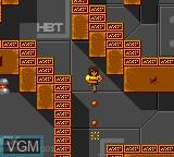 Image in-game du jeu Alien Syndrome sur Sega Game Gear