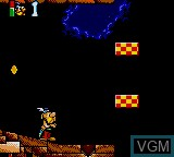 Image in-game du jeu Asterix and the Great Rescue sur Sega Game Gear