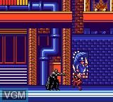 Image in-game du jeu Batman Returns sur Sega Game Gear