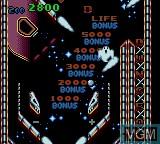 Image in-game du jeu Wizard Pinball sur Sega Game Gear