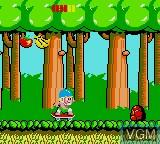 Image in-game du jeu Wonder Boy sur Sega Game Gear