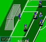 Image in-game du jeu World Cup Soccer sur Sega Game Gear