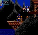 Image in-game du jeu X-Men sur Sega Game Gear