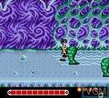 Image in-game du jeu Yuu Yuu Hakusho sur Sega Game Gear