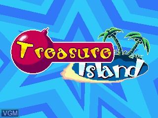 Image de l'ecran titre du jeu Treasure Island sur GamePark Holdings Game Park 32