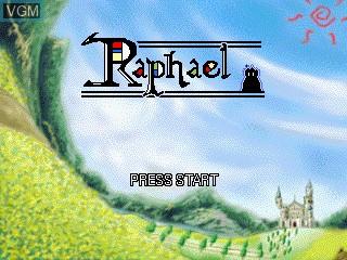 Image de l'ecran titre du jeu Raphael sur GamePark Holdings Game Park 32