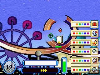 Image du menu du jeu Rally Pop sur GamePark Holdings Game Park 32