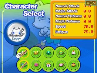 Image du menu du jeu Funny Soccer 2002 sur GamePark Holdings Game Park 32