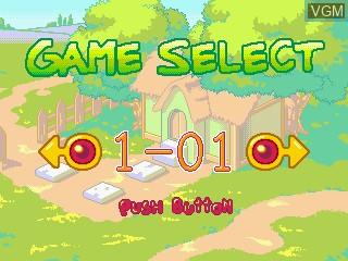 Image du menu du jeu Tanggle's Magic Square sur GamePark Holdings Game Park 32